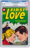 Silver Age (1956-1969):Romance, First Love Illustrated #79 File Copy (Harvey, 1957) CGC VF 8.0Light tan to off-white pages....
