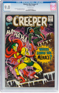 Silver Age (1956-1969):Superhero, Beware the Creeper #1 (DC, 1968) CGC VF/NM 9.0 Off-white pages....