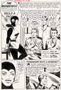 "Original Comic Art:Complete Story, Larry Lieber and George Roussos (as G. Bell) Tales toAstonish #51 Complete 5-Page Story ""Somewhere Waits A Wobbow...(Total: 5 Original Art)"