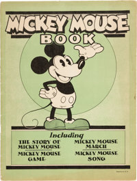 Mickey Mouse Book Later Printing (Bibo & Lang, 1931) Condition: FN+