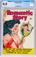 Golden Age (1938-1955):Romance, Romantic Story #27 (Charlton, 1954) CGC VG 4.0 Cream to off-white pages....