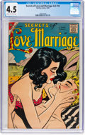 Silver Age (1956-1969):Romance, Secrets of Love and Marriage V2#10 (Charlton, 1958) CGC VG+ 4.5Cream to off-white pages....