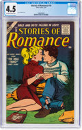 Silver Age (1956-1969):Romance, Stories of Romance #10 (Atlas, 1957) CGC VG+ 4.5 Off-white to whitepages....