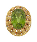 Estate Jewelry:Rings, Peridot, Gold Ring. ...