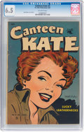 Golden Age (1938-1955):Romance, Canteen Kate #2 (St. John, 1952) CGC FN+ 6.5 Off-white pages....