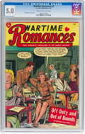 Golden Age (1938-1955):Romance, Wartime Romances #2 (St. John, 1951) CGC VG/FN 5.0 Cream tooff-white pages....