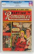 Golden Age (1938-1955):Romance, Wartime Romances #6 (St. John, 1952) CGC VG+ 4.5 Off-whitepages....