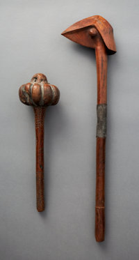 Two Good Old Melanesian Clubs