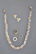 Jewelry:Necklaces, Two Pre-Columbian Spondylus Shell Necklaces with Associated Rings and Pendants... (Total: 2 Items)