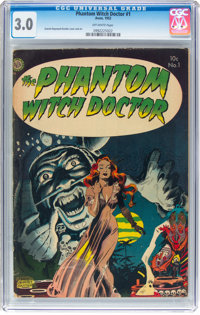 The Phantom Witch Doctor #1 (Avon, 1952) CGC GD/VG 3.0 Off-white pages