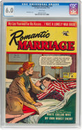 Golden Age (1938-1955):Romance, Romantic Marriage #23 (St. John, 1954) CGC FN 6.0 White pages....