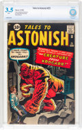 Silver Age (1956-1969):Horror, Tales to Astonish #25 (Marvel, 1961) CBCS VG- 3.5 White pages....