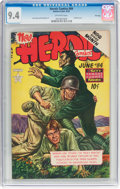 Golden Age (1938-1955):War, Heroic Comics #84 File Copy (Eastern Color, 1953) CGC NM 9.4Off-white pages....