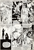 Original Comic Art:Panel Pages, Dan Green and Terry Austin Doctor Strange #58 Page 4Original Art (Marvel, 1983)....