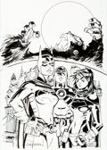 Original Comic Art:Covers, Rick Leonardi and Dan Green Convergence Batgirl #1 CoverOriginal Art (DC, 2015)....