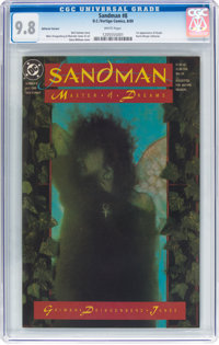 Sandman #8 Editorial Variant (DC, 1989) CGC NM/MT 9.8 White pages