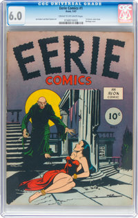 Eerie #1 (Avon, 1947) CGC FN 6.0 Cream to off-white pages