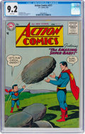 Silver Age (1956-1969):Superhero, Action Comics #217 (DC, 1956) CGC NM- 9.2 White pages....
