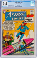 Silver Age (1956-1969):Superhero, Action Comics #246 (DC, 1958) CGC NM 9.4 Off-white to whitepages....