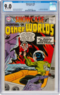 Silver Age (1956-1969):Superhero, Showcase #18 Adventures on Other Worlds (DC, 1959) CGC VF/NM 9.0 Off-white to white pages....