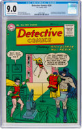 Golden Age (1938-1955):Superhero, Detective Comics #226 (DC, 1955) CGC VF/NM 9.0 Off-white to white pages....