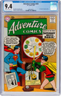 Silver Age (1956-1969):Superhero, Adventure Comics #253 (DC, 1958) CGC NM 9.4 Off-white to white pages....