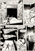 Original Comic Art:Panel Pages, Carmine Infantino and Rudy Nebres Star Wars Annual #2 Story Page 32 Han Solo Original Art (Marvel, 1982)....