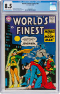 Silver Age (1956-1969):Superhero, World's Finest Comics #98 (DC, 1958) CGC VF+ 8.5 Off-white to whitepages....