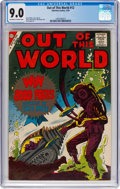 Silver Age (1956-1969):Science Fiction, Out of This World #12 (Charlton, 1959) CGC VF/NM 9.0 Off-white to white pages....