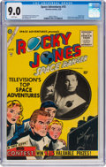 Golden Age (1938-1955):Science Fiction, Space Adventures #15 (Charlton, 1955) CGC VF/NM 9.0 White pages....
