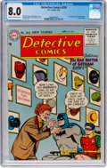 Silver Age (1956-1969):Superhero, Detective Comics #230 (DC, 1956) CGC VF 8.0 Cream to off-whitepages....