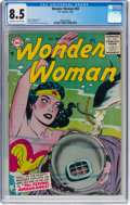 Silver Age (1956-1969):Superhero, Wonder Woman #83 (DC, 1956) CGC VF+ 8.5 Off-white to white...