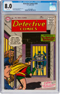 Silver Age (1956-1969):Superhero, Detective Comics #228 (DC, 1956) CGC VF 8.0 White pages....