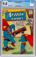 Silver Age (1956-1969):Superhero, Action Comics #238 (DC, 1958) CGC VF/NM 9.0 Off-white to w...