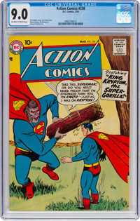Action Comics #238 (DC, 1958) CGC VF/NM 9.0 Off-white to white pages