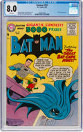 Silver Age (1956-1969):Superhero, Batman #101 (DC, 1956) CGC VF 8.0 White pages....