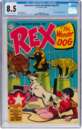 Golden Age (1938-1955):Miscellaneous, Adventures of Rex the Wonder Dog #16 (DC, 1954) CGC VF+ 8.5 Off-white to white pages....