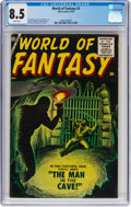 Silver Age (1956-1969):Horror, World of Fantasy #3 (Atlas, 1956) CGC VF+ 8.5 White pages....