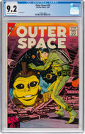 Silver Age (1956-1969):Science Fiction, Outer Space #20 (Charlton, 1958) CGC NM- 9.2 Off-white to whitepages....