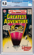 Silver Age (1956-1969):Science Fiction, My Greatest Adventure #11 (DC, 1956) CGC VF/NM 9.0 Off-whitepages....