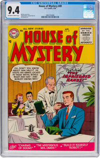 House of Mystery #49 (DC, 1956) CGC NM 9.4 Off-white to white pages
