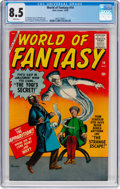 Silver Age (1956-1969):Horror, World of Fantasy #14 (Atlas, 1958) CGC VF+ 8.5 White pages....