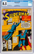 Silver Age (1956-1969):Superhero, Superman #119 (DC, 1958) CGC VF+ 8.5 Off-white to white pages....