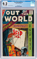 Silver Age (1956-1969):Horror, Out of This World #10 (Charlton, 1958) CGC NM- 9.2 Off-white towhite pages....