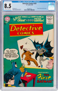 Silver Age (1956-1969):Superhero, Detective Comics #235 (DC, 1956) CGC VF+ 8.5 Off-white to whitepages....