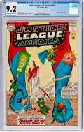 Silver Age (1956-1969):Superhero, Justice League of America #18 (DC, 1963) CGC NM- 9.2 Off-white towhite pages....
