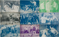 Boxing Cards:General, 1920's W504 Exhibit Boxing Scenes From Movies (21 Different). ...