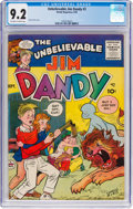 Silver Age (1956-1969):Humor, Jim Dandy #3 (Dandy Magazines, 1956) CGC NM- 9.2 Off-white to white pages....