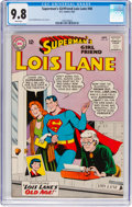 Silver Age (1956-1969):Superhero, Superman's Girlfriend Lois Lane #40 (DC, 1963) CGC NM/MT 9.8 Whitepages....