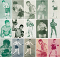 Boxing Cards:General, 1930's - 1970's Exhibit Boxers (260) - With Scarce CanadianExhibits. ...